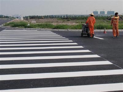 贵阳交通道路标线