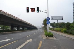 贵州国道的道路划线