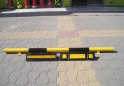 观山湖橡胶定位器,橡胶挡车墩