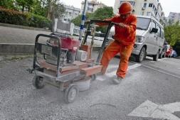 贵州停车位线清除