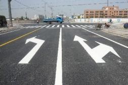 遵义道路划线施工